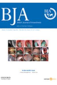 Британский Журнал Анестезиологии