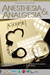Журнал Анестезия и Анальгезия