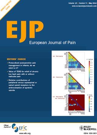 European Journal of Pain