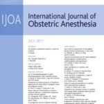 International Journal of Obstetric Anesthesia