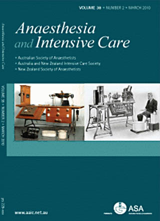 Anaesthesia and Intensive Care