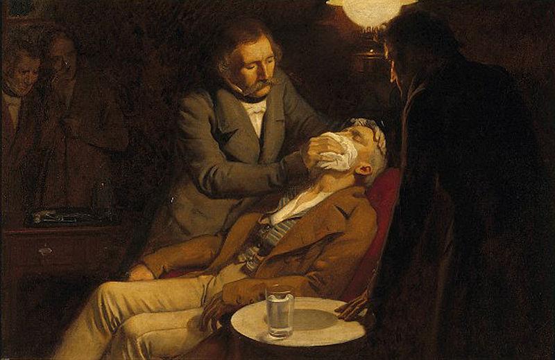 история анестезиологии